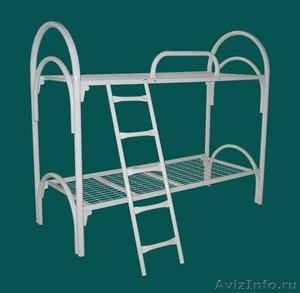 двухъярусные и одноярусные металлические кровати , кровати для больниц - Изображение #2, Объявление #695593