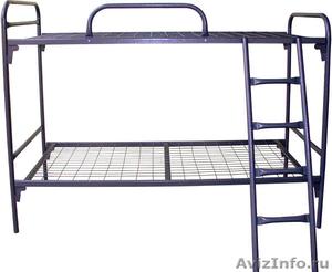 двухъярусные и одноярусные металлические кровати , кровати для больниц - Изображение #1, Объявление #695593
