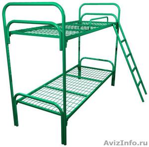 Кровати для турбазы, одноярусные металлические кровати - Изображение #6, Объявление #898315