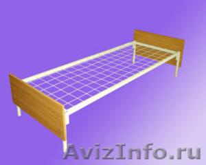Кровати для турбазы, одноярусные металлические кровати - Изображение #5, Объявление #898315