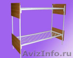 Кровати для турбазы, одноярусные металлические кровати - Изображение #4, Объявление #898315