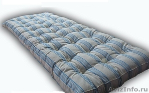 Одноярусные металлические кровати для вагончиков, кровати одноярусные. оптом - Изображение #1, Объявление #1480287