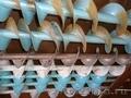 Шнек чистого зерна ОВИ 04.110,  шнек приемной камеры ОВИ 03.060,  шнек отходов