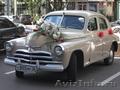 Ретро автомобиль ГАЗ-20М Победа,  пятиместный,  седан на свадьбу в Воронеже.