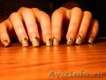 наращивание ногтей 300р))
