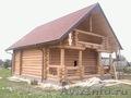 срубы домов и бань ручной рубки из Вологды