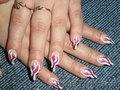 Наращивание ногтей гелем.маникюр.