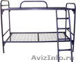 двухъярусные и одноярусные металлические кровати ,  кровати для больниц