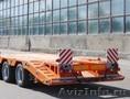 Аренда низкорамного трала для перевозки экскаваторов бульдозеров бытовок вагончи - Изображение #3, Объявление #1272397
