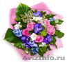 Круглосуточная доставка цветов - букеты из роз,  лилий,  тюльпанов и других цветов