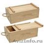 Деревянные коробочки для вина и д р  блотритоьб