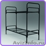 Одноярусные металлические кровати для вагончиков, кровати одноярусные. оптом - Изображение #2, Объявление #1480287