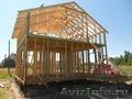 Строительство каркасно-щитовых домов,  бань